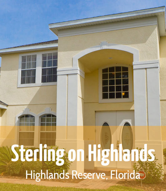 Sterling on Highlands - Highlands Reserve, Florida.